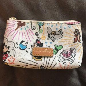 Dooney & Bourke Disney Sketch Mickey cosmetic bag